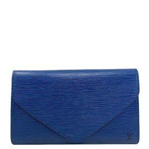 Louis Vuitton Epi Leather Clutch